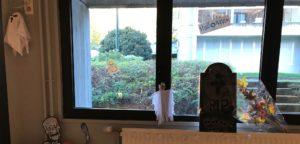 Décoration Halloween restaurant
